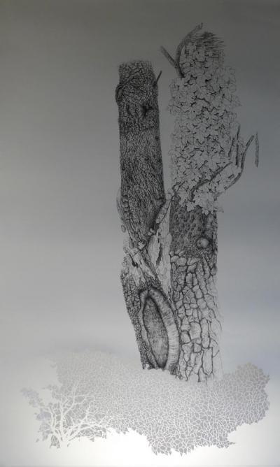 la mue . 173 x 100 cm